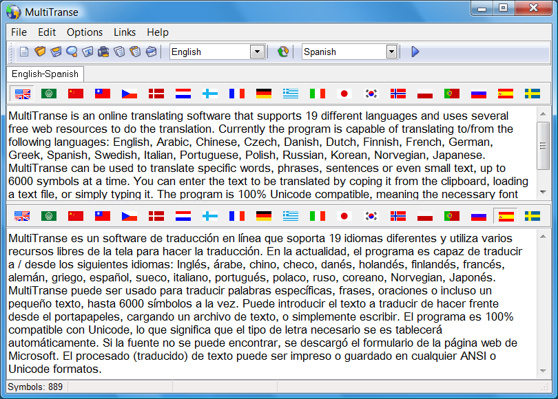 Spanish Translator download